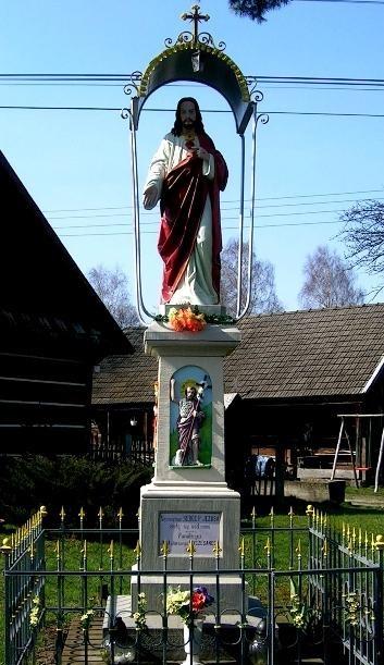 Figura Najświętszego Serca Jezusa z 1910 roku