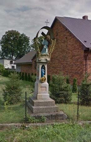 Figura niesienia krzyża przez Jezusa